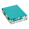 Wausau Paper Astrobrights Colored Card Stock, 65 lbs., 8-1/2 x 11, Terrestrial Teal, 250 Shts (WAU21855)