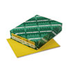 Wausau Paper Astrobrights Colored Card Stock, 65 lbs., 8-1/2 x 11, Solar Yellow, 250 Sheets (WAU22731)