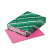 Wausau Paper Astrobrights Colored Card Stock, 65 lbs., 8-1/2 x 11, Pulsar Pink, 250 Sheets (WAU21041)