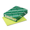 Wausau Paper Astrobrights Colored Card Stock, 65 lbs., 8-1/2 x 11, Lift-Off Lemon, 250 Sheets (WAU21021)