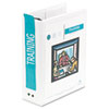 Wilson Jones Hanging View Binder With Fliplock Post Mechanism, 2 Capacity, White (WLJ36544W)