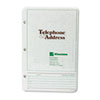 Wilson Jones Looseleaf Phone/Address Book Refill, 5-1/2 x 8-1/2, 80 Sheets/Pack (WLJ812R)