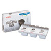Xerox 108R00668 Solid Ink Stick, 1,000 Page-Yield, 3/Box, Black (XER108R00668)