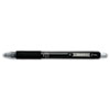 Zebra Z-Grip Retractable Gel Pen, Black Ink. Medium, Dozen (ZEB42410)