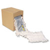 Unisan Flash Forty Disposable Dustmop, Cotton, 5, Natural (UNSFF40)