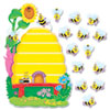Trend Busy Bees Job Chart Plus Bulletin Board Set 18 1/4 x 17 1/2 (TEPT8077)