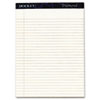 Tops Docket Diamond Legal Ruled Pads, 8-1/2 x 11-3/4, Ivory, 2 50-Sheet Pads/Box (TOP63976)