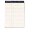 Tops Docket Diamond Law Ruled Pads, 8-1/2 x 11-3/4, Ivory, 2 50-Sheet Pads/Box (TOP63983)