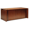 Mayline Stella Series Wood Veneer Straight Front Desk, 72w x 36d x 29½h, Toffee (MLNSKDS72TOF)