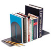 Steelmaster Fashion Bookends, 5 9/10 x 5 x 7, Granite, Pair (MMF2410171A3)