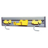 Rubbermaid Commercial Closet Organizer/Tool Holder, 18 Width (RCP199200GY)