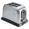 Coffee Pro 2-Slice Toaster with Adjustable Slot Width, Stainless Steel (OGFOG8073)