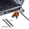 Kensington MicroSaver Keyed Ultra Laptop Lock, 6 ft. Steel Cable, Two Keys (KMW67723)