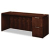 Hon Arrive Single Pedestal Credenza, Right, 72w x 24d x 29-1/2h, Shaker Cherry (HONVW271RC1Z9FF)