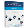 Hammermill Copy Plus Copy Paper, 92 Brightness, 20lb, 8-1/2 x 11, White, 5000 Sheets/Carton (HAM105007)