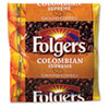 Folgers Coffee, Colombian, Ground, 1.75 oz Pack, 42/Carton (FOL06451)