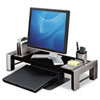 Fellowes Flat Panel Workstation Shelf, 25 7/8 x 11 1/2 x 9 1/4, Gray Laminate Top (FEL8037401)