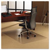 Floortex ClearTex Ultimat Polycarbonate Chair Mat for Carpet, 48 x 60, Clear (FLR1115223ER)