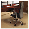 Floortex ClearTex Ultimat Polycarbonate Chair Mat for Carpet, 48 x 53, With Lip, Clear (FLR1113423LR)