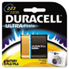 Duracell Ultra High Power Lithium Battery, 223, 6V (DURDL223ABPK)