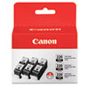 Canon 2945B004 Ink, Black, 3/Pack (CNM2945B004)
