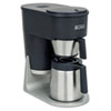Bunn Velocity Brew STX 10-Cup Coffee Brewer, Black/Stainless Steel (BUNST)