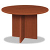 Basyx BL Laminate Series Round Conference Table, 48 dia. X 29-1/2h, Medium Cherry (BSXBLC48DA1A1)