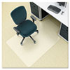 Deflect-O Environmat PET Studded Chair Mat, 45w x 53l, Clear (DEFCM1K232PET)