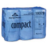 Compact Coreless Bath Tissue, 1500 Sheets/Roll, 18 Rolls/Carton (GEP19378)