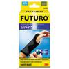 Futuro Adjustable Reversible Splint Wrist Brace, Fits Wrists 5 1/2- 8 1/2, Black/Gray (MMM10770EN)