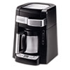 Delonghi 10-Cup Frontal Access Coffee Maker, Black (DLODCF2210TTC)