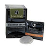 Java One Coffee Pods, Colombian Decaf, Single Cup, Pods,14/Box (JAV30210)