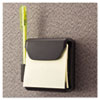 Universal Recycled Plastic Cubicle 3 x 3 Pop-Up Note Dispenser, Charcoal (UNV08205)