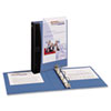 Avery Comfort Touch Durable View Binder, 1 Capacity, Vinyl, Blue (AVE17347)
