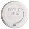 Eco-Products Eco-Lid 25% Recycled Content Hot Cup Lid, Fits 8 oz Cups, 1000/Carton (ECOEPHL8WR)