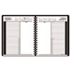 At-A-Glance Recycled 24-Hour Daily Appointment Book, Black, 6 7/8 x 8 3/4 (AAG7082405)