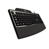 Kensington Pro Fit Comfort Keyboard, Internet/Media Keys, Wired, Black (KMW72402)