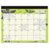 At-A-Glance Recycled Flowers Desk Pad, 22 x 17 (AAG5035)