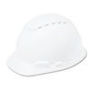 3M H-700 Series Hard Hat with 4-Point Ratchet Suspension, Vented, White (MMMH701V)