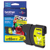 Brother LC65HYY (LC-65HYY) High-Yield Ink, 750 Page-Yield, Yellow (BRTLC65HYY)