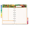 Day-Timer Garden Path Dated Two-Page-per-Day Organizer Refill, 5-1/2 x 8-1/2 (DTM134761401)