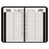 At-A-Glance Recycled Daily Appointment Book, Black, 4 7/8 x 8 (AAG7080005)