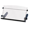 3M In-Line Freestanding Copyholder, Plastic, 300 Sheet Capacity, Black/Clear (MMMDH640)