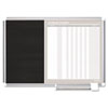 Mastervision MasterVision In-Out and Notice Board, 36x24, Silver Frame (BVCGA0387830)