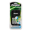 Energizer Charger, for 4 AA or AAA Nimh Batteries, 15-Minute Charge Cycle (EVECH15MNCP4)