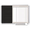 Mastervision MasterVision In-Out and Notice Board, 24x18, Silver Frame (BVCGA0287830)