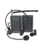 Amplivox Wireless Lapel Microphone Kit, Two Frequencies, 300 ft. Range (APLS1601)
