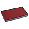 2000 Plus 2000 PLUS Replacement Ink Pad for Printer P40 & Dual Pad Printer P40, Red (COS065473)