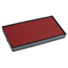2000 Plus 2000 PLUS Replacement Ink Pad for Printer P20 & Dual Pad Printer P20, Red (COS065467)