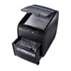 Swingline Stack-and-Shred 80X Medium-Duty Cross-Cut Shredder, 80 Sheet Capacity (SWI1757574)